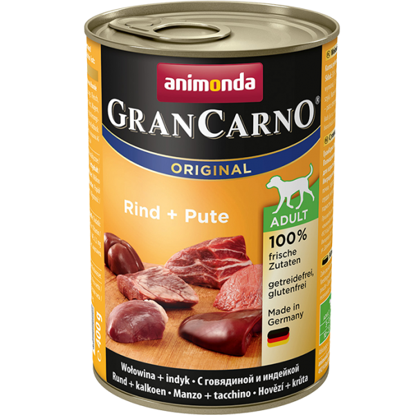 Animonda GranCarno Original Adult Rind + Pute
